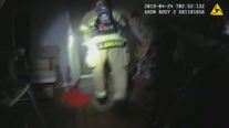 Firefighters save senior citizen from burning Parker County home