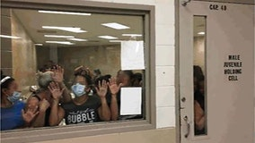 Images show migrants pleading for help in 'dangerous' overcrowded Texas DHS detention facilities