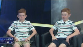 Robertson twins giving back to Children's Health
