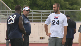 Dallas XFL team evaluates players at showcase event