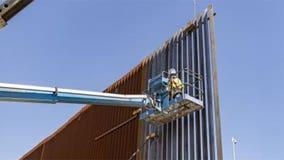 New border wall construction begins in California