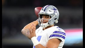 Cowboys working on new contract for Dak Prescott