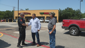 Citizens praised for helping Lewisville officer take suspect into custody