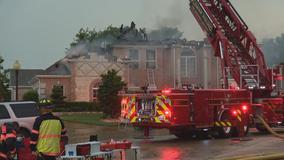 Lightning strikes blamed for house fires in Flower Mound, Irving