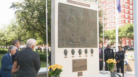 Memorial unveiled honoring five officers killed in 2016 Dallas ambush shooting
