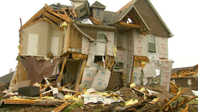 Rockwall homes destroyed by overnight storms