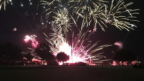 Workers injured after malfunction ends Lake Dallas fireworks show