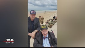 'No Regrets': World War II veteran on a mission to visit all 50 states