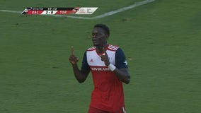 Badji scored twice in FC Dallas' 3-0 win over Toronto FC