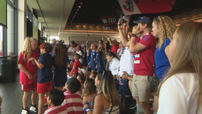 North Texans cheer on USWNT on their way to World Cup title