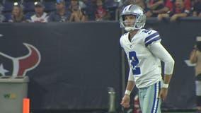 Dallas Cowboys release kicker Brett Maher