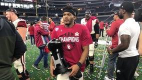 CFP hopeful No. 5 Oklahoma beats No. 9 Texas for Big 12 title
