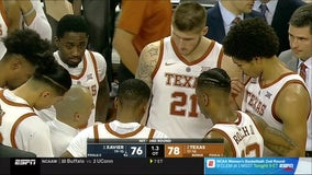 Roach scores 21 to lead Texas past Xavier 78-76 in OT
