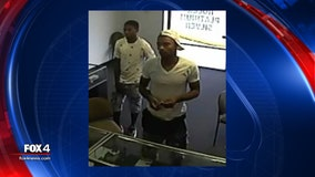Mesquite police searching for armed robbery suspects