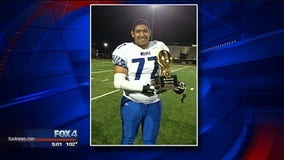 Hunt County high school athlete recovering from apparent heatstroke