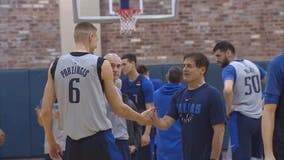Euro swap for Mavs: Porzingis joins Doncic as Dirk moves on
