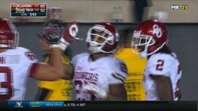 No. 16 Oklahoma outlasts Texas Tech 66-57