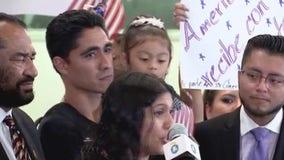 Congressman Al Green reunites Jose Escobar with his family in Houston