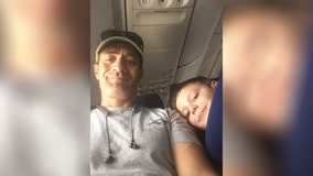 Boy, 7, with autism traveling solo has heartwarming encounter with man sitting beside him on plane