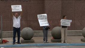 Dallas protestors ask U.S. to stop meddling in Venezuela