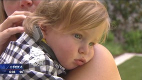 Doctors call toddler's recovery from near-drowning a 'miracle'