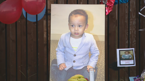 Vigil held to honor missing Denton 2-year-old found dead in neighbor's SUV