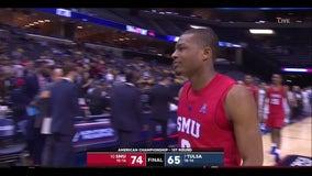 McMurray scores 27, SMU beats Tulsa 74-65 in AAC tourney