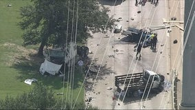 Two killed in three-vehicle traffic accident in Northwest Dallas