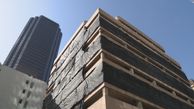 Downtown Dallas office building imploded Saturday morning
