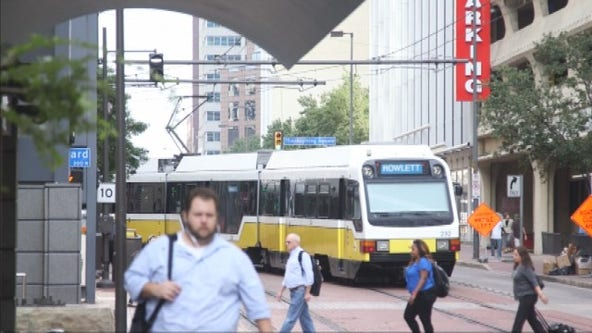 DART light rail celebrates 25th anniversary