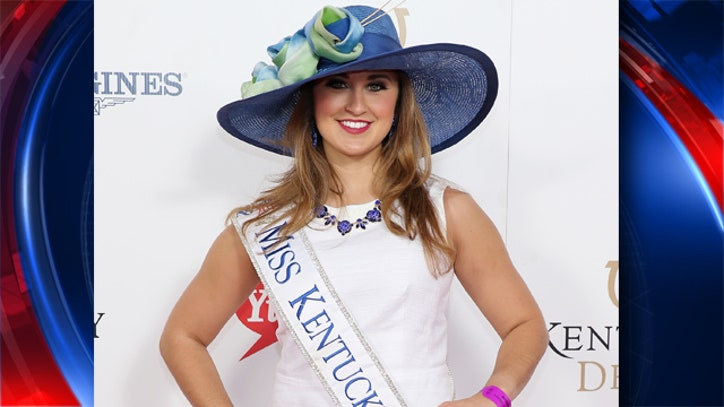 Ex Miss Kentucky charged with sending nude photos to
