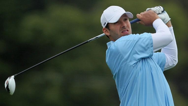 Tony Romo golf