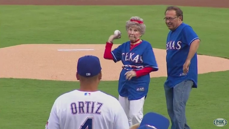 Rangers 103 year old