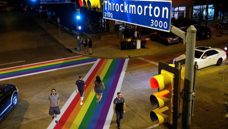 0527b662-Cedar Springs Dallas rainbow crosswalks