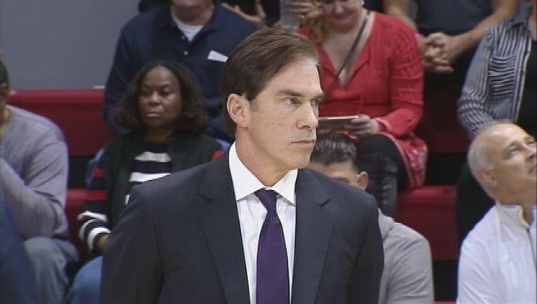 SMU basketball coach Tim Jankovich