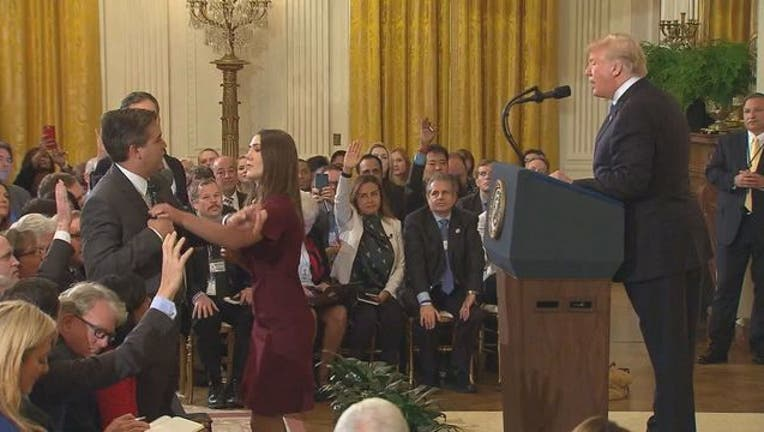 WTTG Jim Acosta President Donald Trump Press Conference 110718-401720-401720.jpg