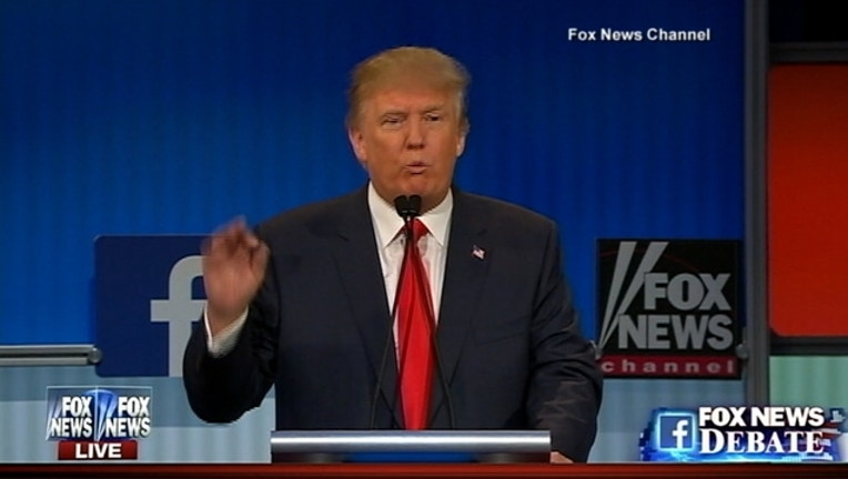 Donald Trump Fox News debate