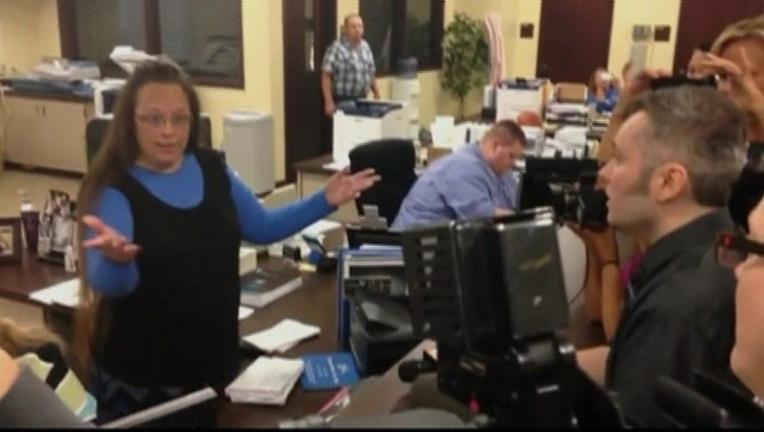 Kentucky clerk gay marriage