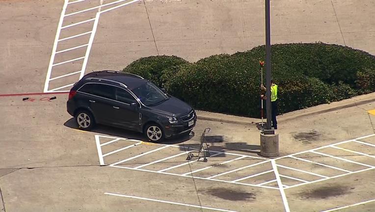 Kroger parking lot crash