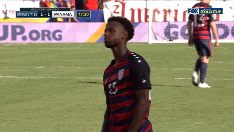 USA vs Panama Gold Cup