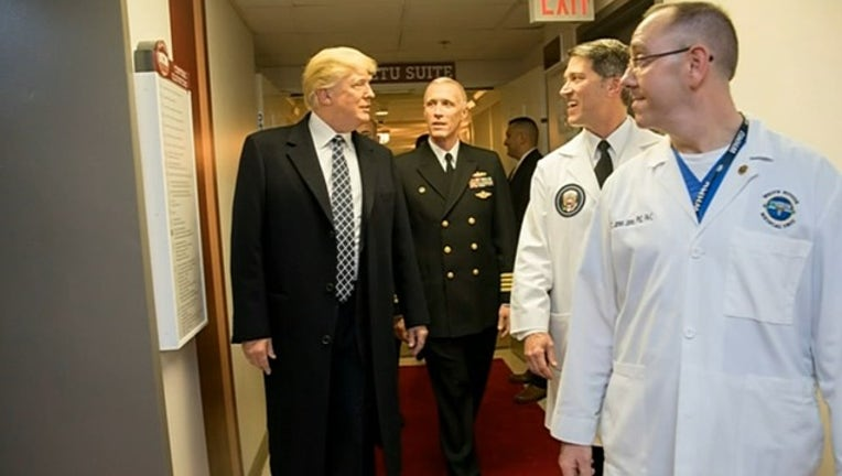 TRUMP PHYSICAL DETAILS