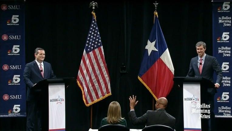 Cruz O'Rourke debate Dallas
