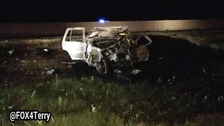 greenville fiery crash