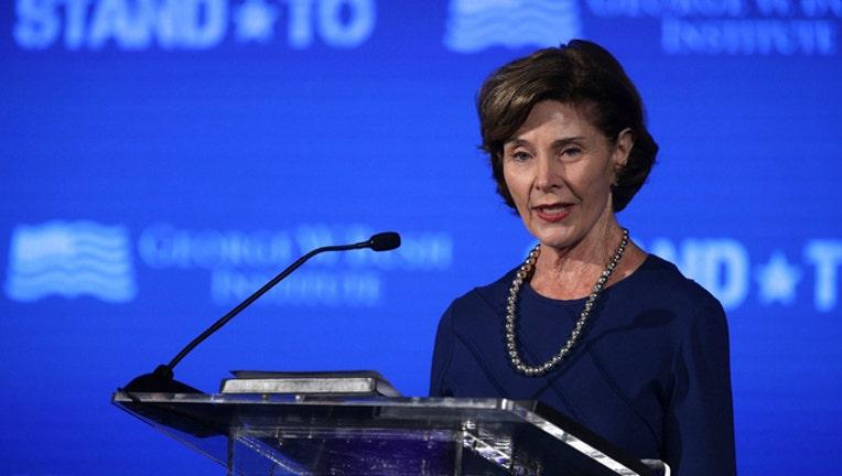 GETTY Former First Lady Laura Bush-404023