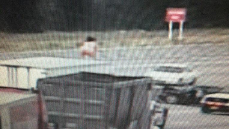 Naked dancing woman shuts down Highway 290   khou.com