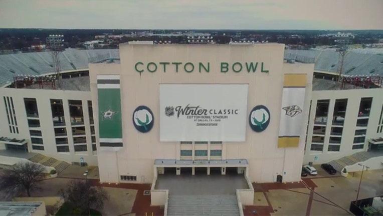 cotton bowl winter classic announcement