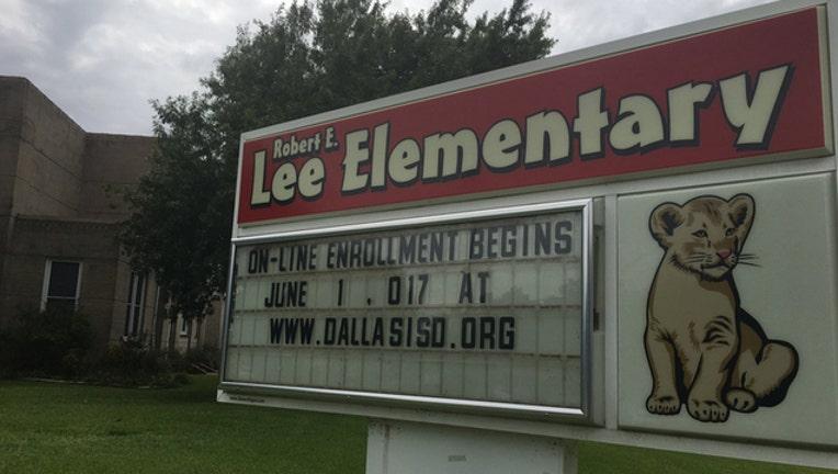 Robert E Lee elementary DISD