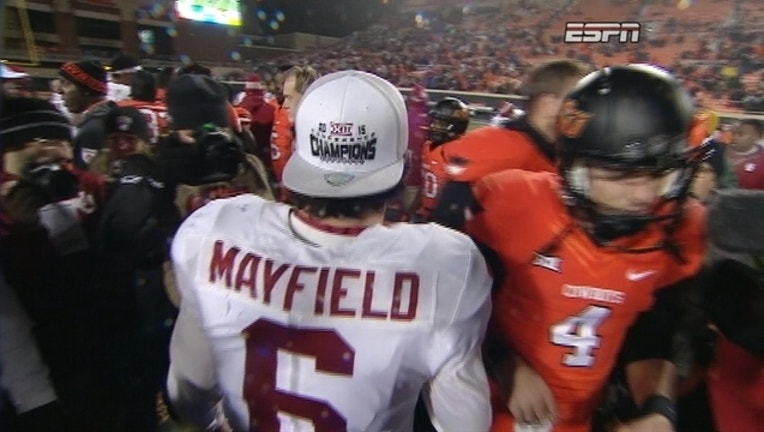 Baker Mayfield Oklahoma