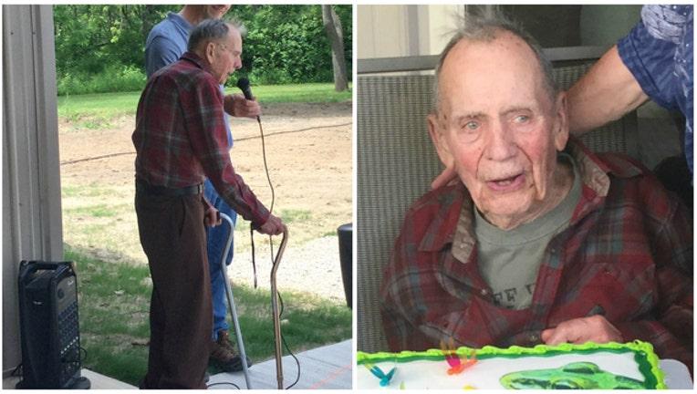 7d340156-Russ Gremel, 98, donated $2 million to the Illinois Audubon Society (photos courtesy Audubon Society)-404023