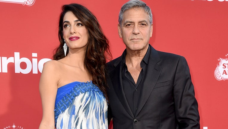 George and Amal Clooney (GETTY IMAGES)-401720